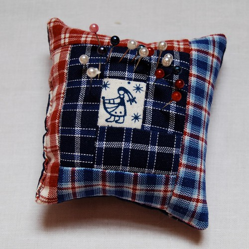 Pincushion gift from Judith by Lynne @ Lilys Quilts