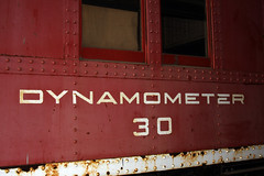 Da' Dynamometer (When lost in.....) Tags: cold history cheese wisconsin train football rr trains packers rails greenbay past colder nationalrailroadmuseum dynamometer30