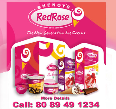 Shenoys Red Rose Home Delivery Started Call : 8089491234