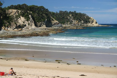 Mackenzie Beach, Malua Bay, NSW.