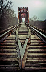 Abandoned Tracks (darkhairedgirl) Tags: fredricksburgroadtrip