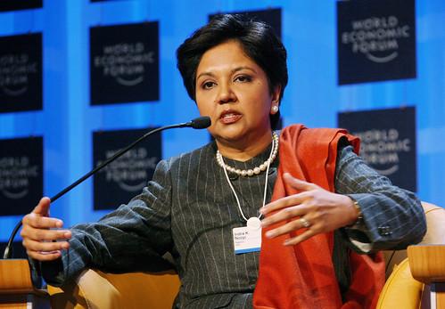Indra nooyi at World Economic Forum