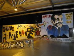 Graffiti Skatepark Bercy Sarkozy