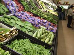 weird veg aisle