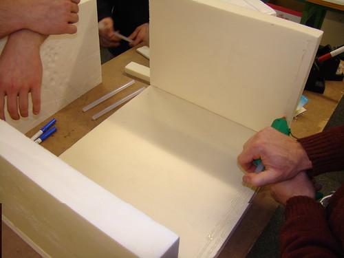 Procés de construcció de la cambra de proves