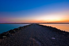 Choose a Sea..!! (Ageel) Tags: road street longexposure trip blue sea sky orange cloud seascape black cold reflection art beach water colors beauty clouds d50 lens landscape photography nikon rocks colorful photographer nightshot sca redsea fineart tripod cost sigma kingdom wideangle bluesky arabic arab saudi land sa arabian jeddah 1020mm saudiarabia soe freelance photogenic ksa hejaz sigma1020mm freelancer longexp    rabigh  jiddah   abigfave   ageel