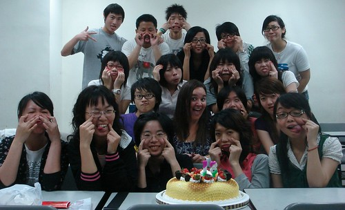 Happy Birthday from my Writing Class