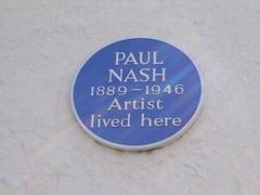 Paul Nash Plaque