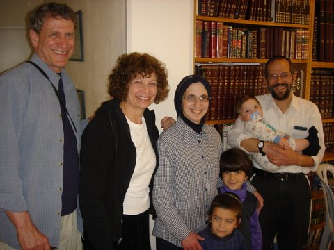 Fradkin's Visit Israel