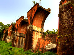 , Remains of Longteng Bridge, Sanyi, Miaoli County, 03/05/2008 (Tang Hao-Che) Tags: bridge taiwan  hdr miaoli    sanyi grd longteng