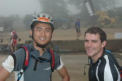 Jimmy & Rich at the start of the last day (by Louis Rossouw)