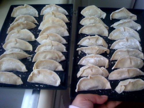 Joz-made potstickers