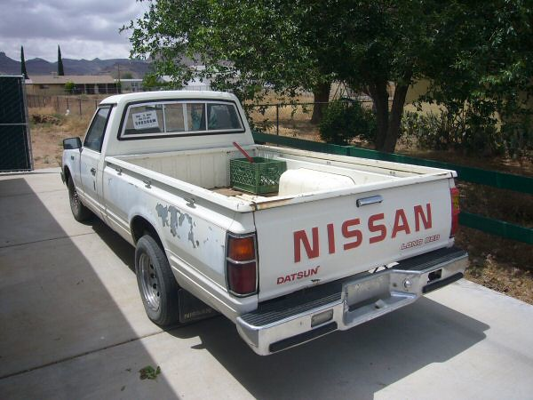truck nissan pickup datsun