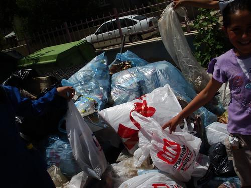 Afyon çöp toplama, çevre temizliği etkinliği