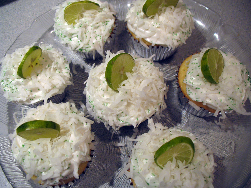 Coconut Keylime Cupcakes