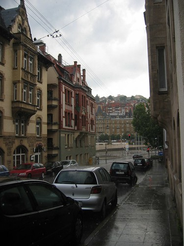 Rain, View towards Marienplatz