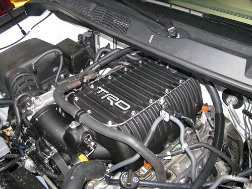 TRD supercharger Toyota Tundra
