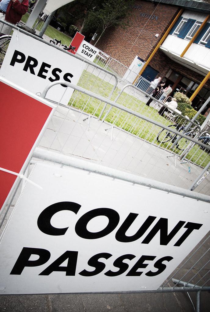 Count entrances