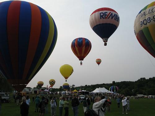 Quechee Balloon Festival, 2008