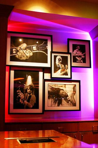 Hard Rock Hotel Registration Desk Display