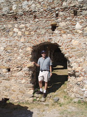 Me in doorway (steven_and_haley_bach) Tags: me myself dad steven byzantine mystras sixthday mistras greecevacation byzantineruins