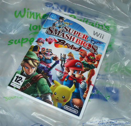 My copy of Super smash bros. Brawl