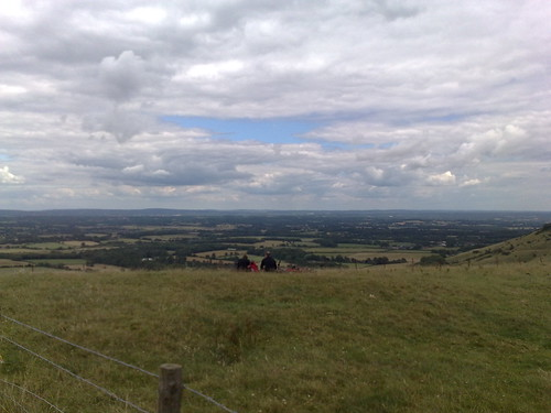 View From The Top of Ditchling Beacon