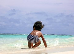 ready for a wave (ahmed (John)) Tags: family people holiday beach kids island sand picnic flickr surf wave son lagoon resort maldives ahmed interest excellence yougotit jood bandos plus4 shiham plus4excellence invitedphotosonlyplus4