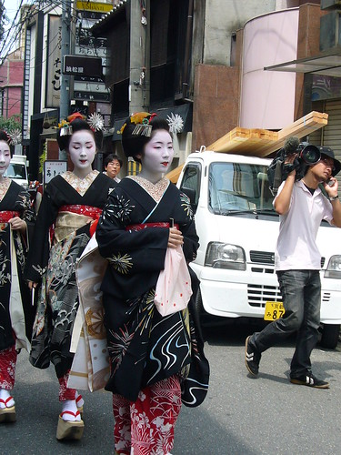 Group of maiko