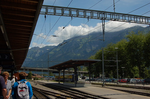 Interlaken Ost駅 (中)