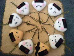 Onigiriss (Chu) Tags: cute fluffy onigiri kawaii etsy items nya cellphonestrap