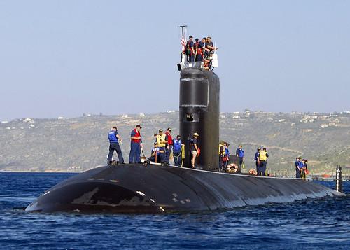 Submarine Rising in Crete