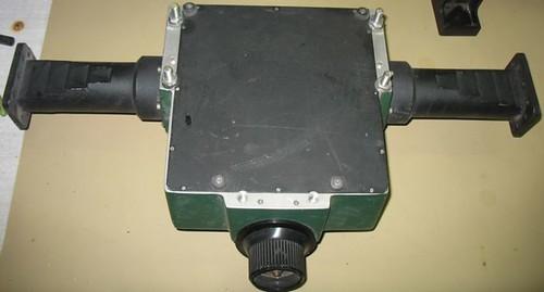 Imagen del atenuador por la parte de inferior.