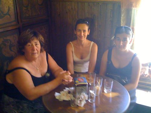 Marce, Marga, and Belén