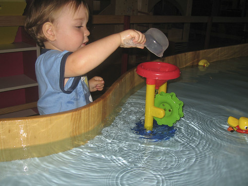 a toddler sized water table