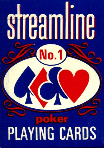 Streamline No. 1 Vintage Poker Playing Cards