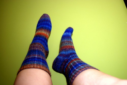 view of socks