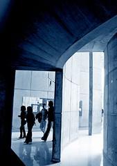 atrapados2 (Clauminara) Tags: blue azul mxico architecture mexico arquitectura mexicocity df cd universidad autonoma mavica metropolitana mexic ciudaddemexico xochimilco distritofederal geometria curva uam mejico duotono atrapados mjico uamx universidadautnomametropolitanaunidadxochimilco