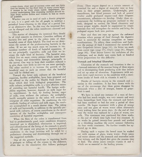 Foods that Alkalinize and Heal 1939 : internal sanitation (part 2)