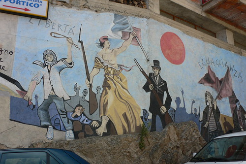 Murales at Orgosolo