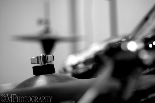 Drum Set Still Life B W Experimental In Photography On The