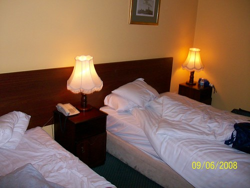 Ireland - room at Auburn Lodge, Ennis