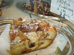 Bread Pudding at La Tarte