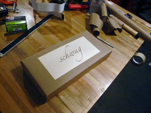 Laser Lettering: Schwag