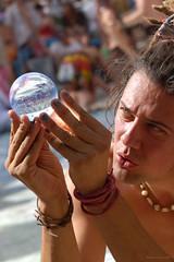 Crystal Ball (naturalturn) Tags: usa nevada 2006 burningman blackrockcity burningman2006 image:rating=5 image:id=033975