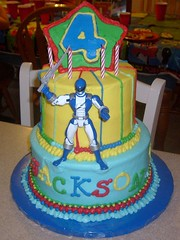 Jackson's Power Ranger Cake