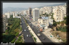 HighWay (SaudiSoul) Tags: road lebanon mountain highway beirut  jounieh