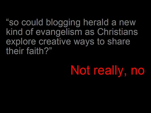 New Horizon 2008 - Blogging for Jesus