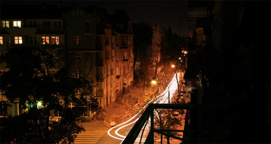 First night in Poznan