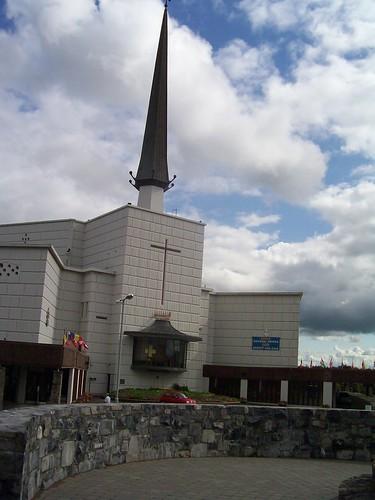 Ireland - Knock Shrine - new basilica